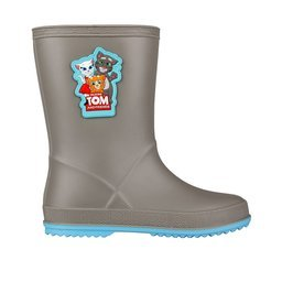 Holínky COQUI RAINY Talking Tom and Friends Mid grey/New blue