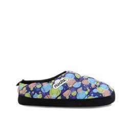 Hausschuhe NUVOLA Classic Printed Pomp Blue K