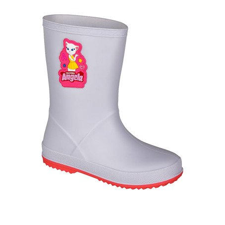 Gummistiefel COQUI RAINY Talking Tom and Friends Khaki grey/New rouge