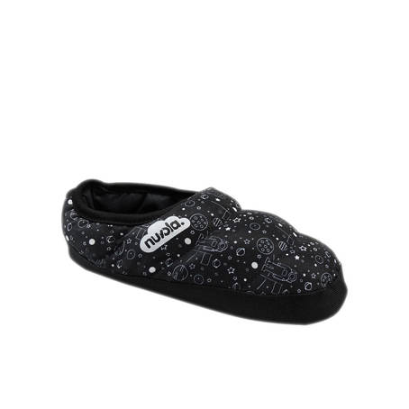 Hausschuhe NUVOLA Classic Printed Space Black K