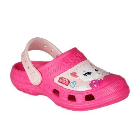 Kindersandalen COQUI MAXI Talking Tom and Friends TT&F Lt. fuchsia/Candy pink